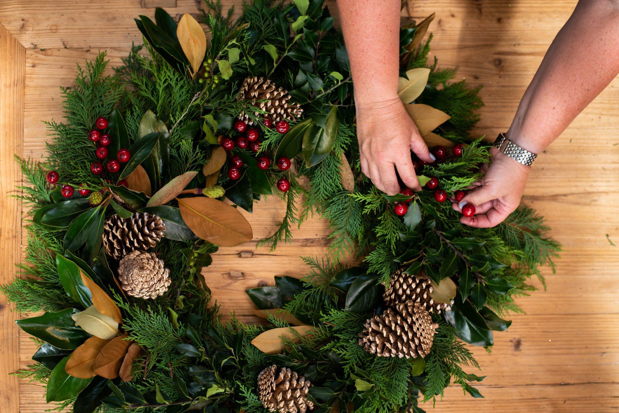 Wreath-making Workshops - Saturday 4th December
